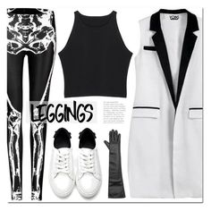 """yoins"" by yoinscollection ❤ liked on Polyvore featuring Leggings and WardrobeStaples"