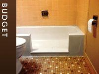 Budget TubCut Step In Shower Conversions. Bathtub ShowerWalk ...
