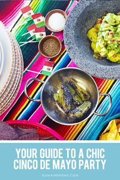 Your Guide to Hosting a Chic Cinco de Mayo Party Guacamole, Fiestas Party, A Little Party, Mexican Food Recipes, Ethnic Recipes, Mexican Party, Party Entertainment, Animal Party, Fajitas