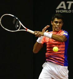 Blog Esportivo do Suíço:  Thiago Monteiro tem set point, mas perde para eslovaco na estreia em Indian Wells