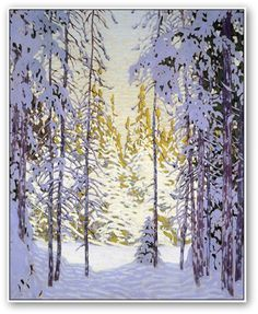 Lawren Harris  Winter Wonderland