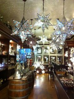 Beautiful Tin Star Lamps {By Tinsmith Old Town San Diego} LOVE tinsmithing Roman Candle, Old Town San Diego, Star Lamp, Tin Star, Gypsy Life, Bath Decor, Beautiful Places, Chandelier, Christmas Tree