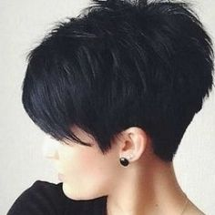 Short Hairstyles For Thick Hair, Haircut For Thick Hair, Short Pixie Haircuts, Short Hair Cuts For Women, Short Hair Styles, Short Hair Cuts Shaved, Wavy Hair, Asian Hairstyles, Popular Short Hairstyles