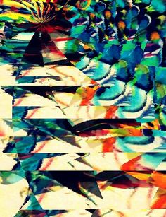 Pigmento mineral em canvas