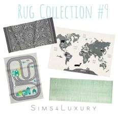 Rug Collection #9 | Sims4Luxury