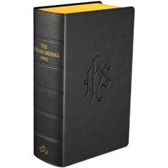 """1962 Roman Missal.  While I am more than fine with the Novus Ordo Mass, I do love the Traditional Latin Mass-- now referred to as """"The Extraordinary Form"""" of the Mass.  This hand missal has the Latin and English texts of every Mass for the entire liturgical cycle of the Roman Catholic Church."""