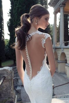 Detalles en vestido de novia