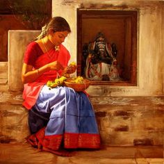 indian village people paintings - Google Search