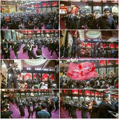 [ Believers Commemorates Mawaqib Al-Zanjeel in Abal Fadhlil Abbas Holy Shrine for the Memory of 40th Day of Imam Hussein ]  #16Safar1437 #ArbaeenWalk #LabbayakYaHussein
