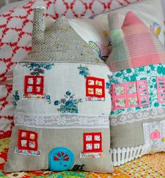 house pillow   cojines  decorados