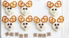 10 cute variations of reindeer christmas cookies