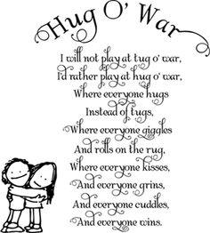 Hug O War | Wall Decals