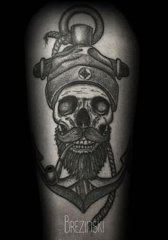 Tattoos by Brezinski 2013 by Brezinski Ilya, via Behance