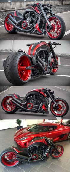 Harley Davidson V Rod Based On The Koenigsegg AGERA-R by No Limit Custom NLC