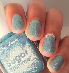 Absolutely love this beautiful nail polish - called Sugar Cloud - from the Sally Hansen Sugar Shimmer collection. I can't wait to rock these textured polishes on my nails this summer...[Read More]