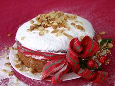 This is the cake that we make for the New Year. The tradition started about 1500 years ago, and if you wish to read it so that I don't take up more of your time here go to: The Tradition of the Vasilopita. We put a coin baked inside the vasilopita Greek Desserts, Greek Recipes, Desert Recipes, Just Desserts, Christmas Breakfast, Christmas Sweets, Christmas Time, Greek Christmas, Christmas Cooking
