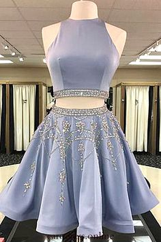 Discount Magnificent Short Homecoming Dress, Prom Dress Blue, Two Pieces Homecoming Dress - Homecoming Dresses Short Homecoming Dresses Two Piece Beautiful Homecoming Dresses Prom Dresses Blue Source by sheenaberglund - 2 Piece Homecoming Dresses, Prom Dresses 2018, A Line Prom Dresses, Prom Party Dresses, Dress Prom, Wedding Dresses, Summer Dresses, Party Gowns, 2 Piece Prom Dress