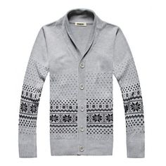 Men Apparel Open Shirt Cotton and Polyester Long Sleeve V-Neck Sweater... ($28) via Polyvore