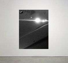 Cars, 2016 - Esther Miquel #photography #reflection #black #art #gallery #visual #light