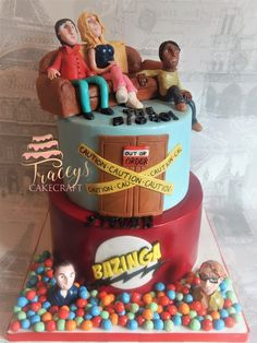 Big Bang Theory Cake   Tracey's CakeCraft (@TsCakeCraft) on Twitter