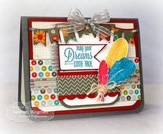 May your Dreams Come True Card by Sankari Wegman #Cardmaking, #Encouragement