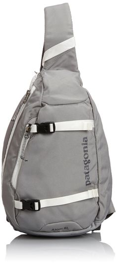 AmazonSmile: Patagonia Atom Sling Bag - 488cu in Aqua Stone, One Size: Sports & Outdoors
