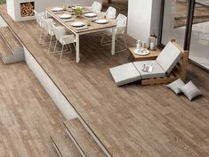 Timber look floor tiles in Sydney.  Kalafrana Ceramics imports exclusive lines of these Spanish wood look tiles.