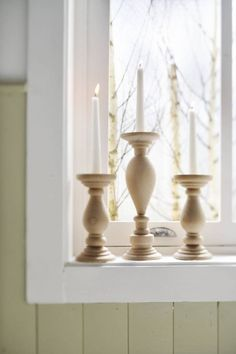 Ok, on est pas à Noël mais des bougies, c'est toujours agréable dans une maison !