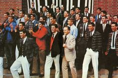 """""""Preppy: Cultivating Ivy Style,"""" by Jeffrey Banks and Doria de La Chapelle Ivy Look, Preppy Kids, Preppy College, College Boys, Estilo Preppy, Ivy League Style, Ivy Style, Men's Style, Preppy Mens Fashion"""