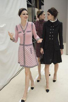 Models Backstage At Fashion Week: Autumn 2015 | British Vogue