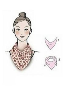 ways of scarf styling