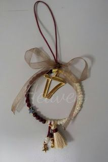 Heaven Creations: Γούρια και χριστουγεννιάτικα δωρα Christmas Decorations, Christmas Ornaments, Holiday Decor, Lucky Charm, Xmas Gifts, Christmas Time, Diy And Crafts, Flora, Charmed