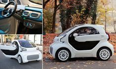 3D printed electric car to hit the market for £7,500 | Daily Mail Online