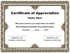 Certificate of appreciation religious certificate of examples of certificates of appreciation wording 30 free certificate of appreciation templates and letters yadclub