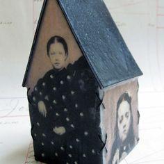 Stephanie Rubiano encaustic house