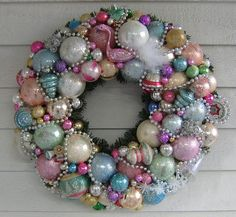 """""""Flamingo Wreath"""" by Treasured Heirlooms, via Flickr"""
