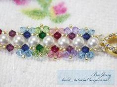 bead_tutorial: Crystal Bracelet #14