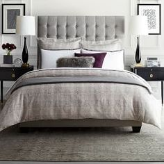 Luxury Duvet Covers & Shams   Williams Sonoma