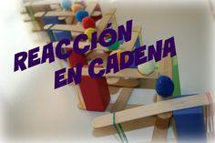 Explosión de Energía en una Reacción en Cadena Triangle, Mary, Chain Reaction, Chains, Science Projects, Explosions, Physics, Clearance Toys