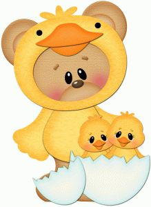 Silhouette Design Store - View Design easter bear with little chicks pnc Silhouette Online Store, Cute Clipart, Tole Painting, Punch Art, Silhouette Design, Paper Piecing, Easter Crafts, Paper Dolls, Puffy Paint