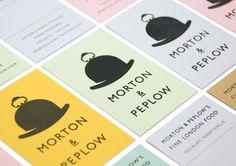 #houseofbranding   Magpie Studio for Morton & Peplow.