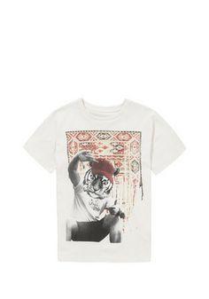 F&F Tiger Aztec Print T-Shirt