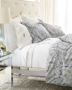Nieman Marcus Charleston Bedding (Paisley) from the Marcus Collection
