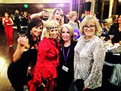 That is Stacy second from the right. She hosts this #fabulous annual event! She also owns a local business and we are honored to do her #website #design and #websitemaintenance. #720media #revivalblingflinggala #coloradosprings #nonprofitfundraiser