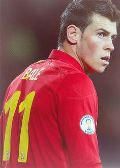 Gareth Bale, Real Madrid. So handsome