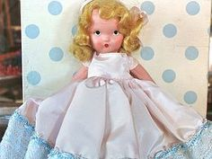 NASB Doll Tuesday's Child is Full of Grace - Bayberry's Antique Dolls #dollshopsunited