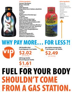 fuel for your body shouldn't come from a gas station. www.my24kVIP.com use code ROSE24K to save 10%