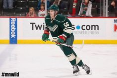 Erik Haula made his @NHL debut with an assist, 2 shots on net and 14:17 TOI. #mnwild