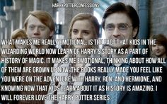 What makes me really emotional is the fact that kids in the...