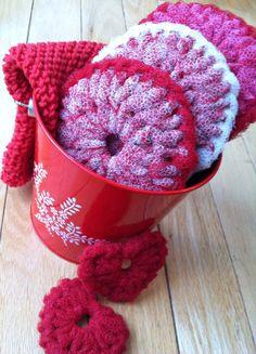 Crochet Nylon Netting Dish Scrubber/Knit by AllSylviasCreations, $20.00
